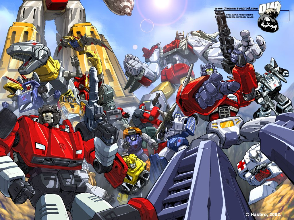 Autobots   Transformers Wallpaper 34998 1024x768