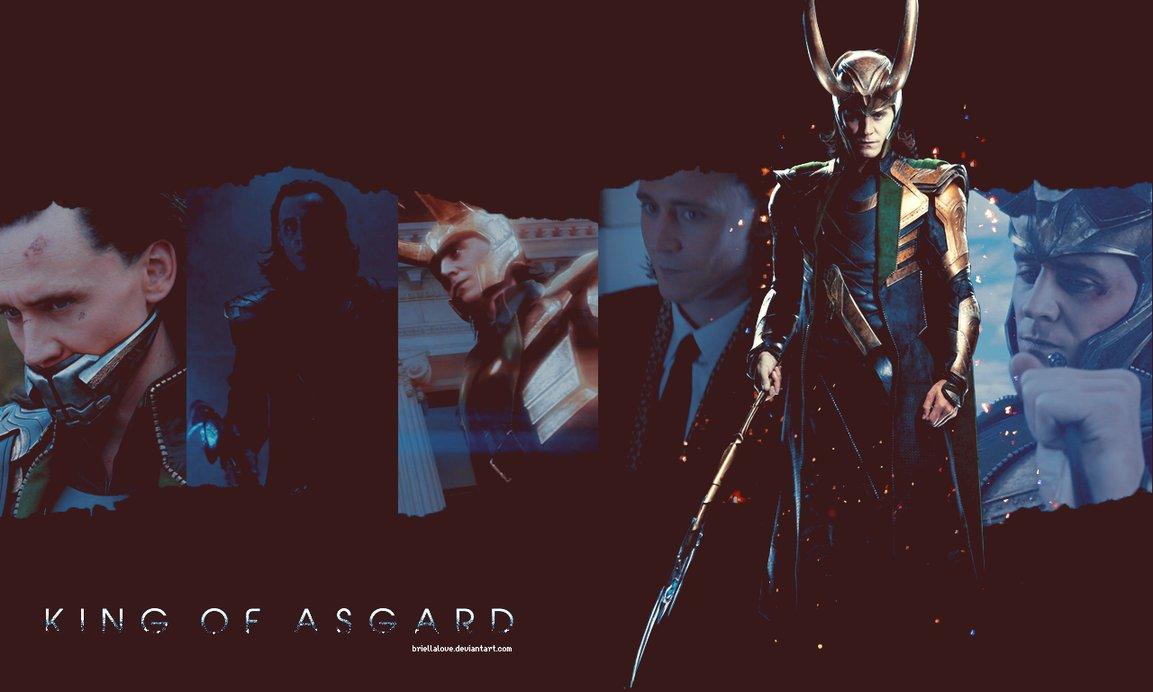 Loki Wallpaper The Avengers by BriellaLove 1153x692
