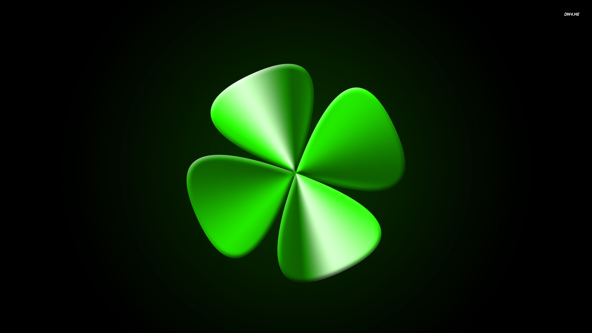 Four leaf clover wallpaper   Digital Art wallpapers   509 1920x1080
