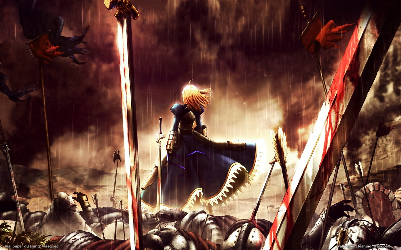 Fate Zero   Fatezero Wallpaper 27227329 1280x800