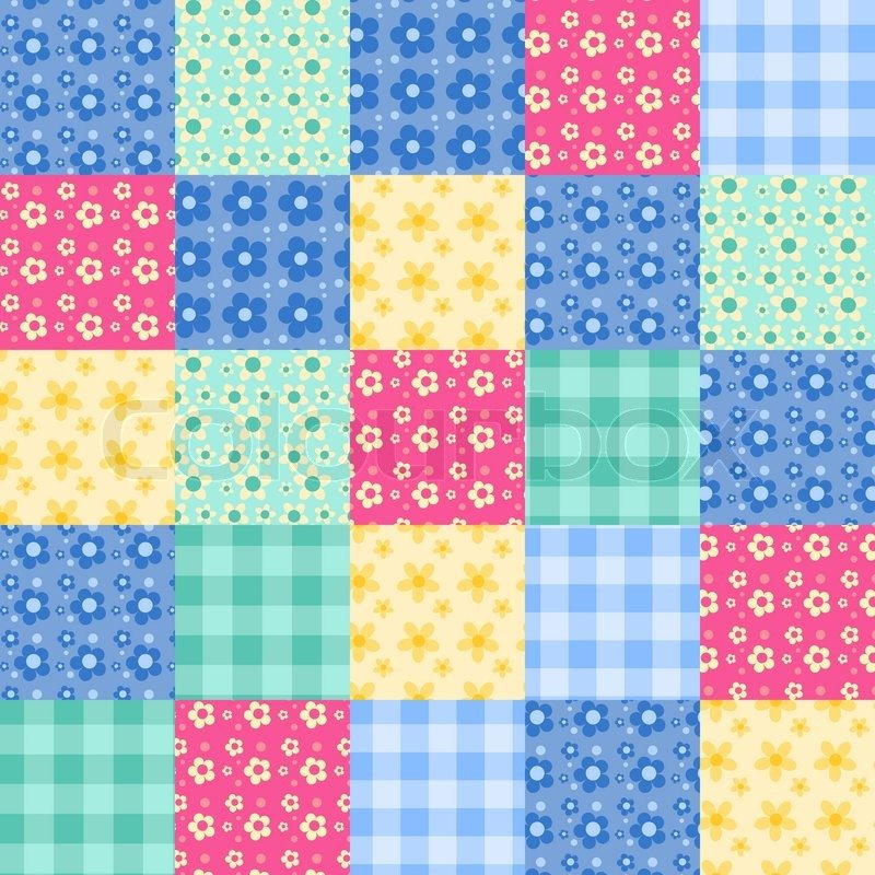 Patchwork Quilt Wallpaper Wallpapersafari