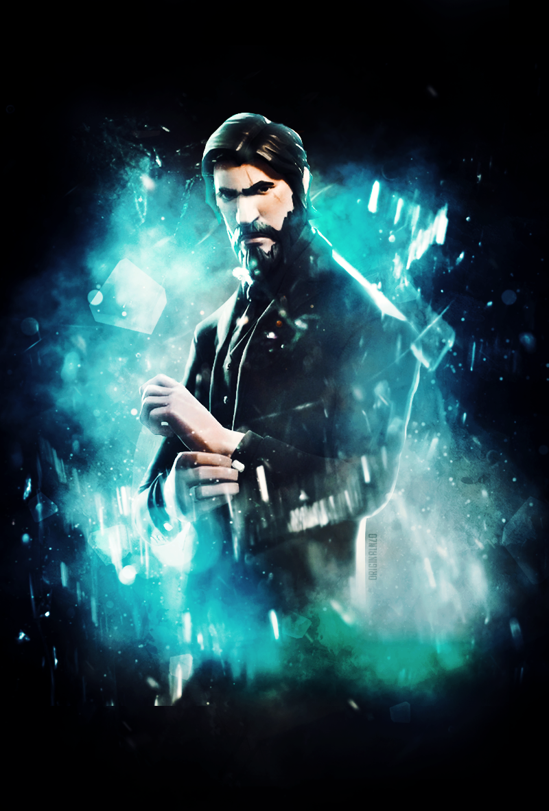 The Reaper John Wick Wallpaper EDIT FortNiteBR 800x1180