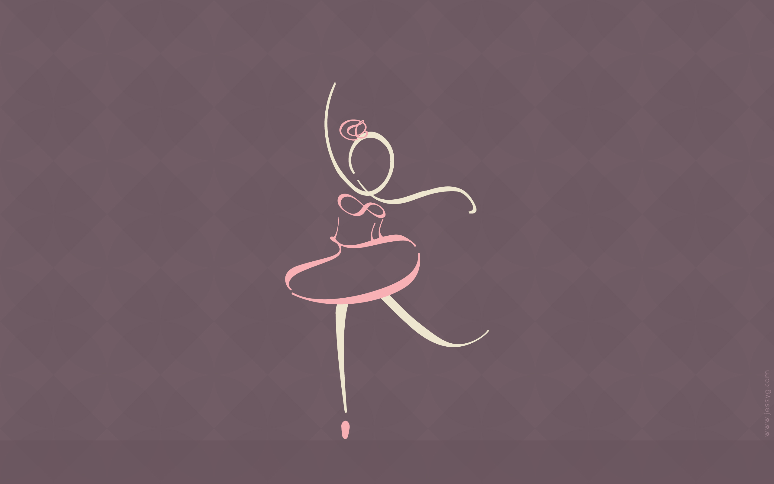 Typographic Ballet Wallpaper by jessyG22 2560x1600
