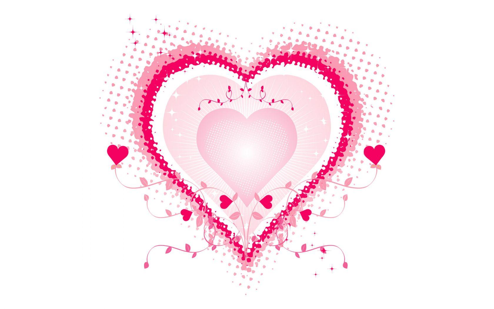 Pink Love Heart Desktop hd Wallpaper High Quality Wallpapers 1680x1050