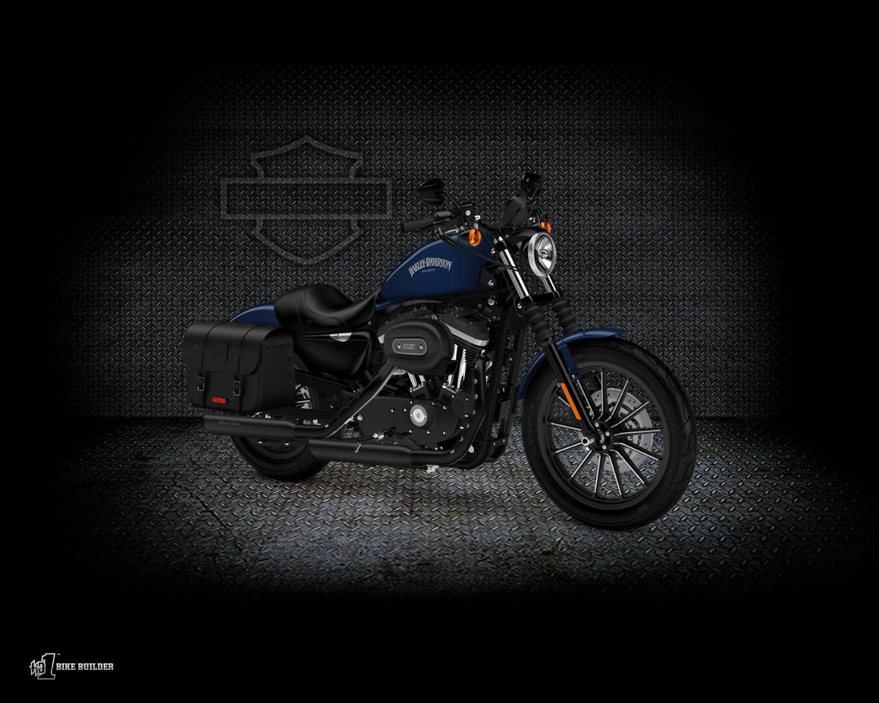 Sportster Iron 883 2012 2013 Harley Davidson Wallpaper 1280x1024