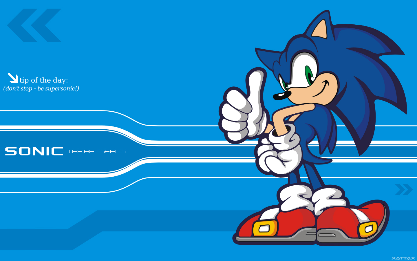 Free Download Sonic The Hedgehog Hd Wallpaper 1440x900 For Your