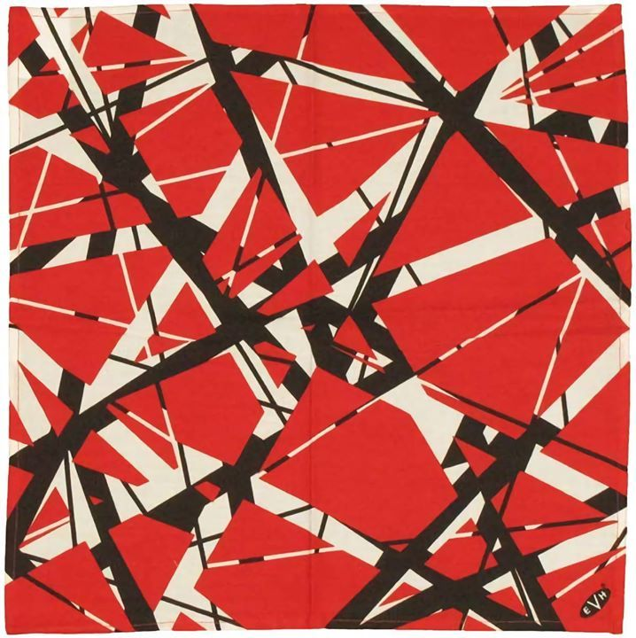 Frankenstrat Pattern Eddie Van Halens guitar Van halen Eddie 718x720