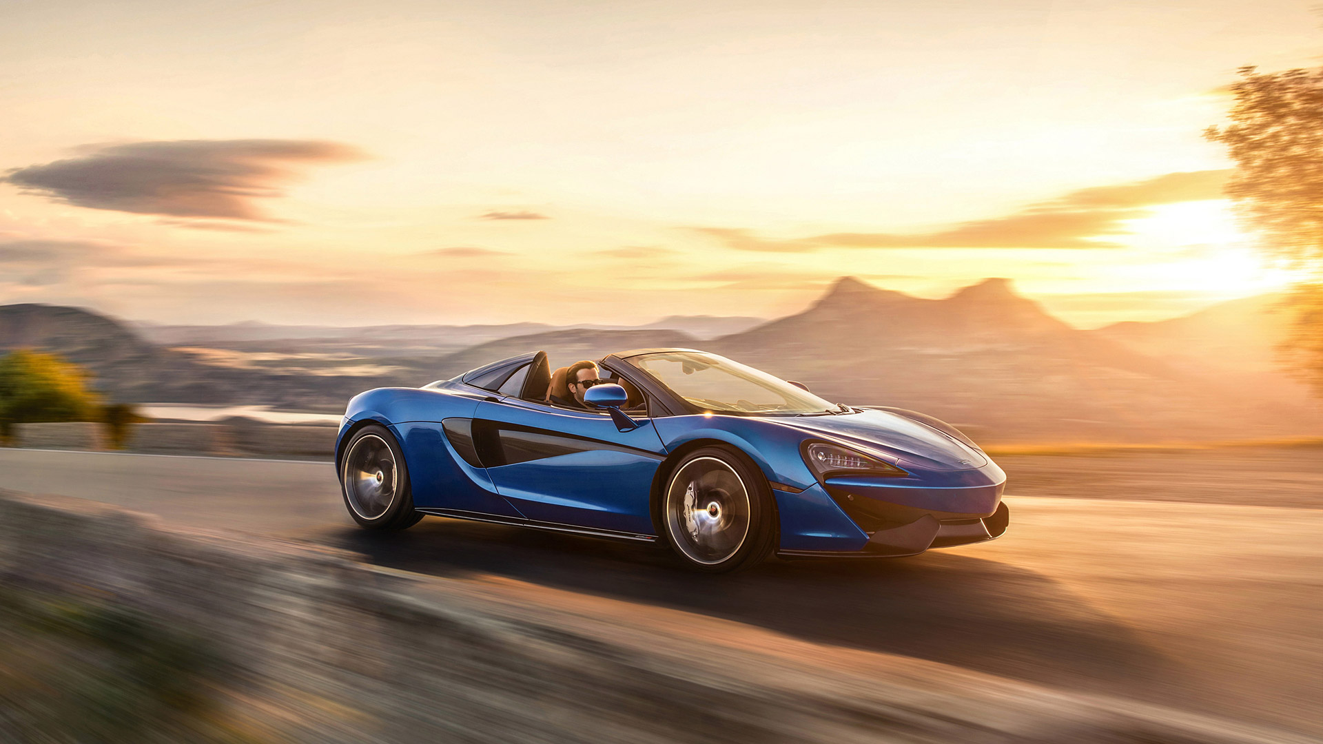 2018 McLaren 570S Spider Wallpapers HD Images   WSupercars 1920x1080