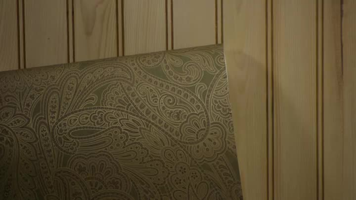 Video Will Wallpaper Damage Wood Paneling eHow 720x406