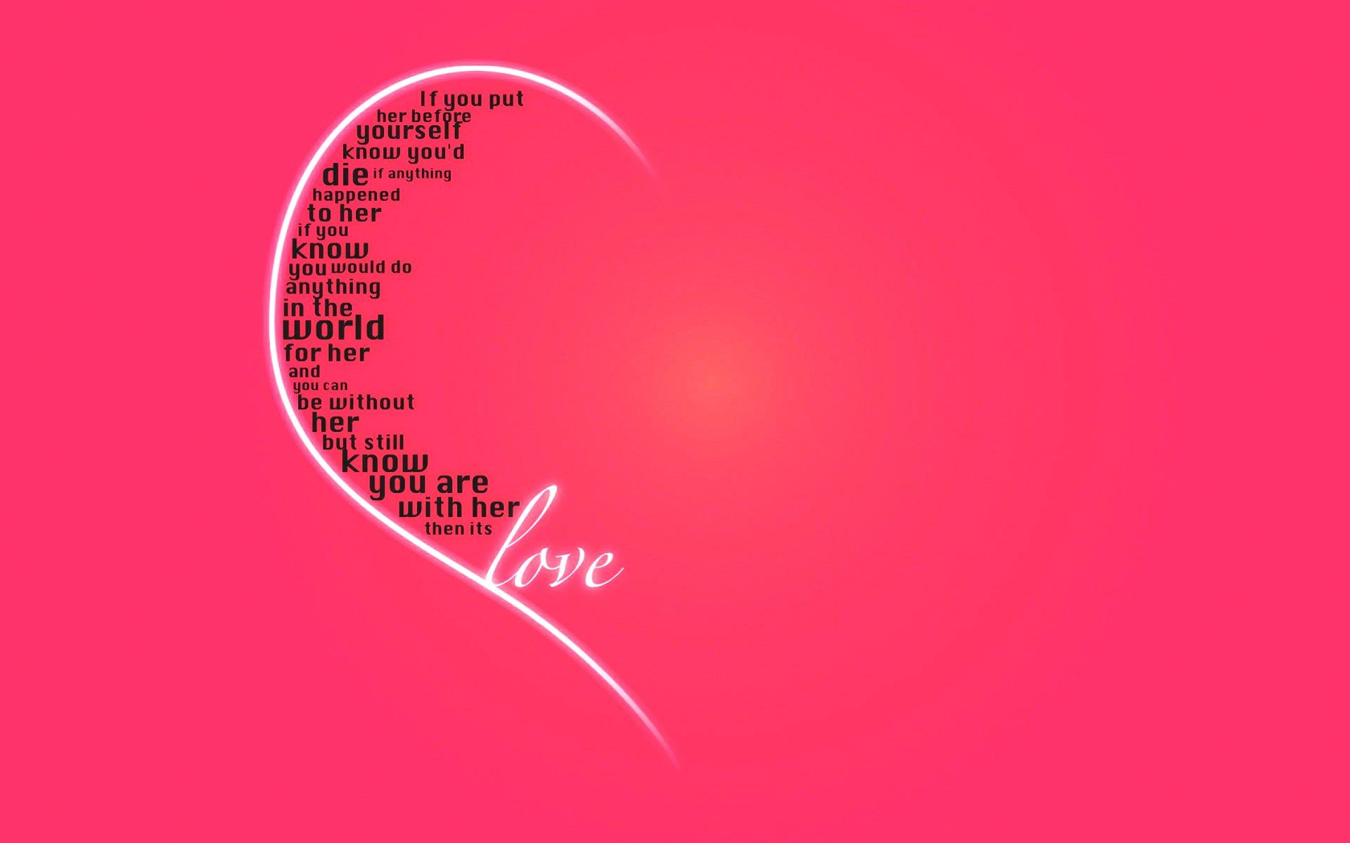 Love Quotes Desktop Backgrounds QuotesGram 1920x1200