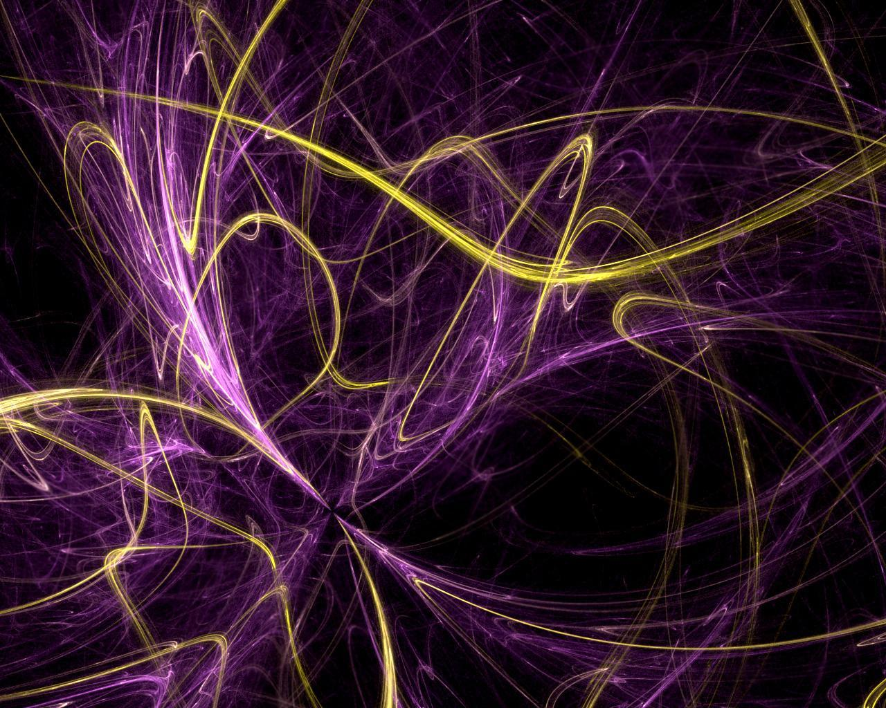 Purple and Gold Swirls Background Backgrounds for Facebook 1280x1024