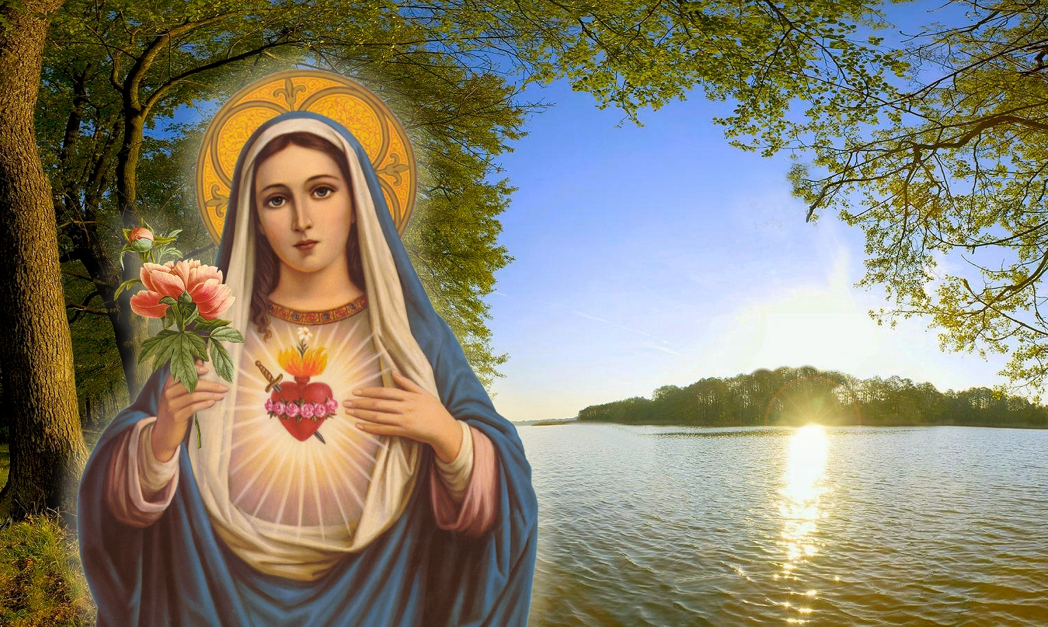 PRAYER TO THE IMMACULATE HEART 1504x900