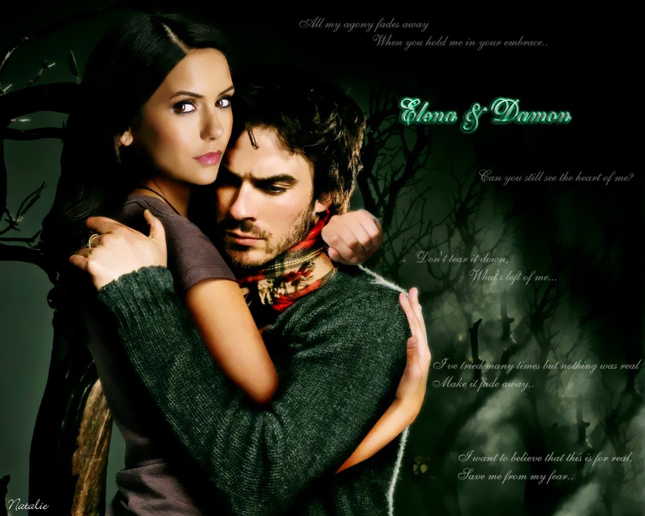 Elena Damon the vampire diaries 16023392 1280 1024jpg 1280x1024