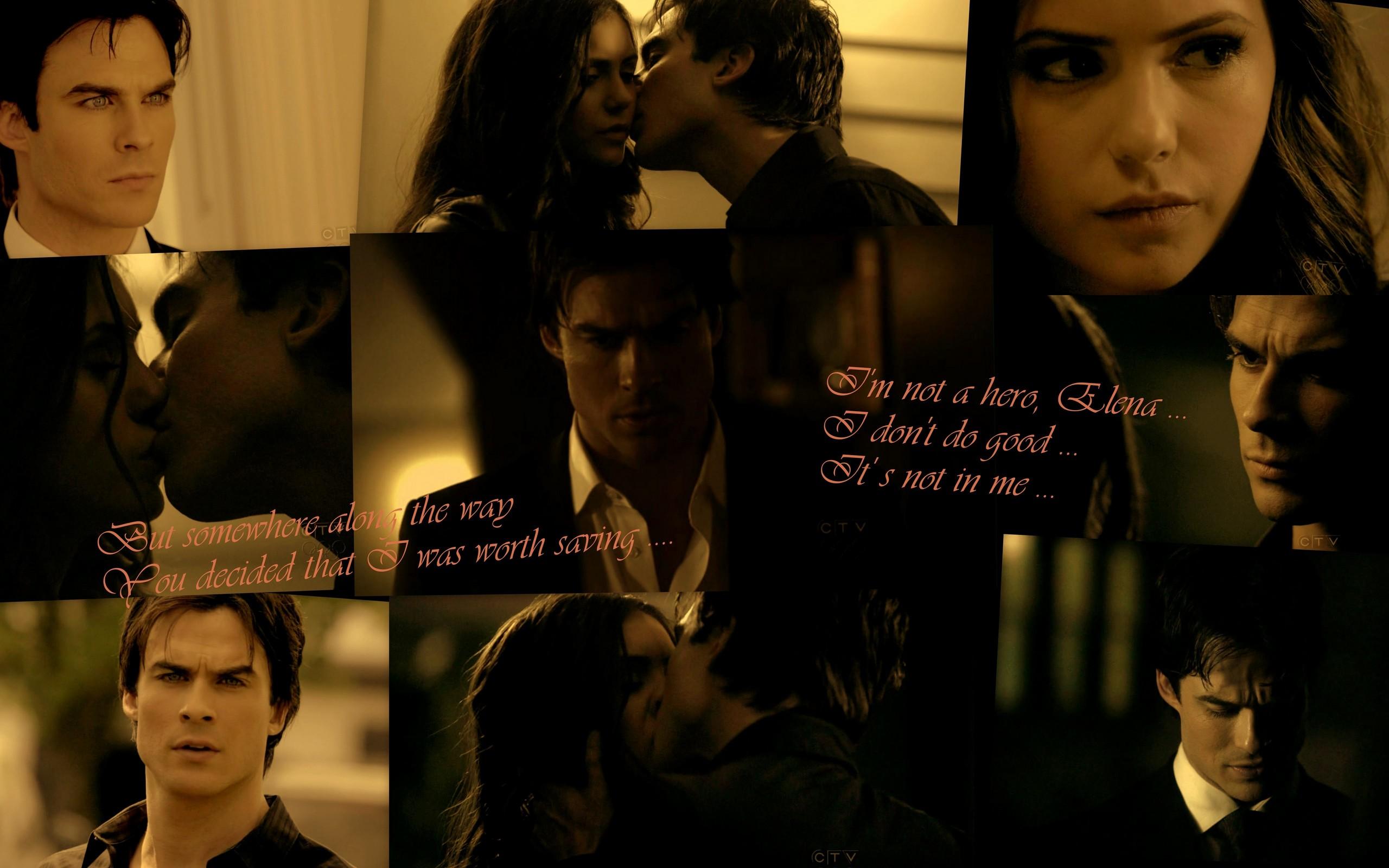 Elena och Damon Vampire Diaries dating