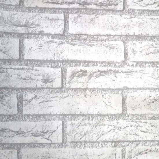 18 Vintage Grey Brick Peel Stick Wallpaper   Self Adhesive Wall Paper 550x550