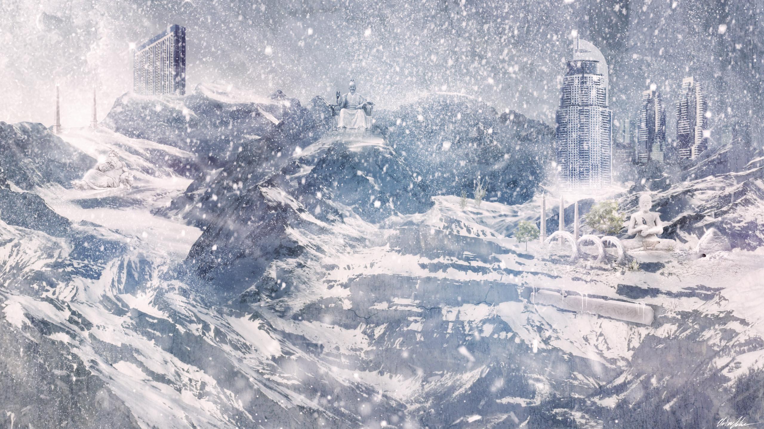 winter blizzard wallpaper wallpapersafari