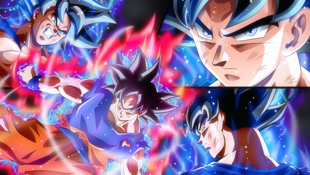 90+] Goku Ultra Instinct Mastered Wallpapers on WallpaperSafari
