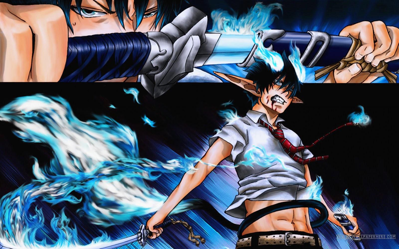 blue sword wallpaper