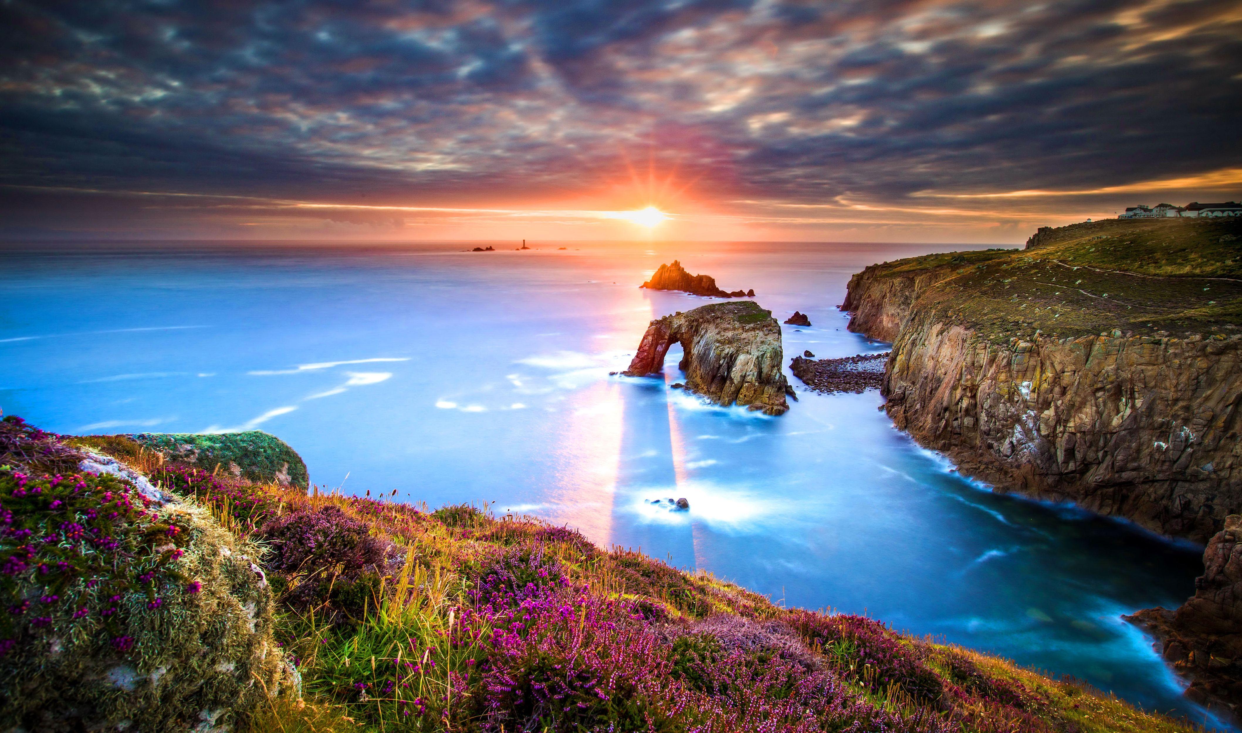 Cornwall Landscape Desktop Wallpapers   Top Cornwall 4234x2500