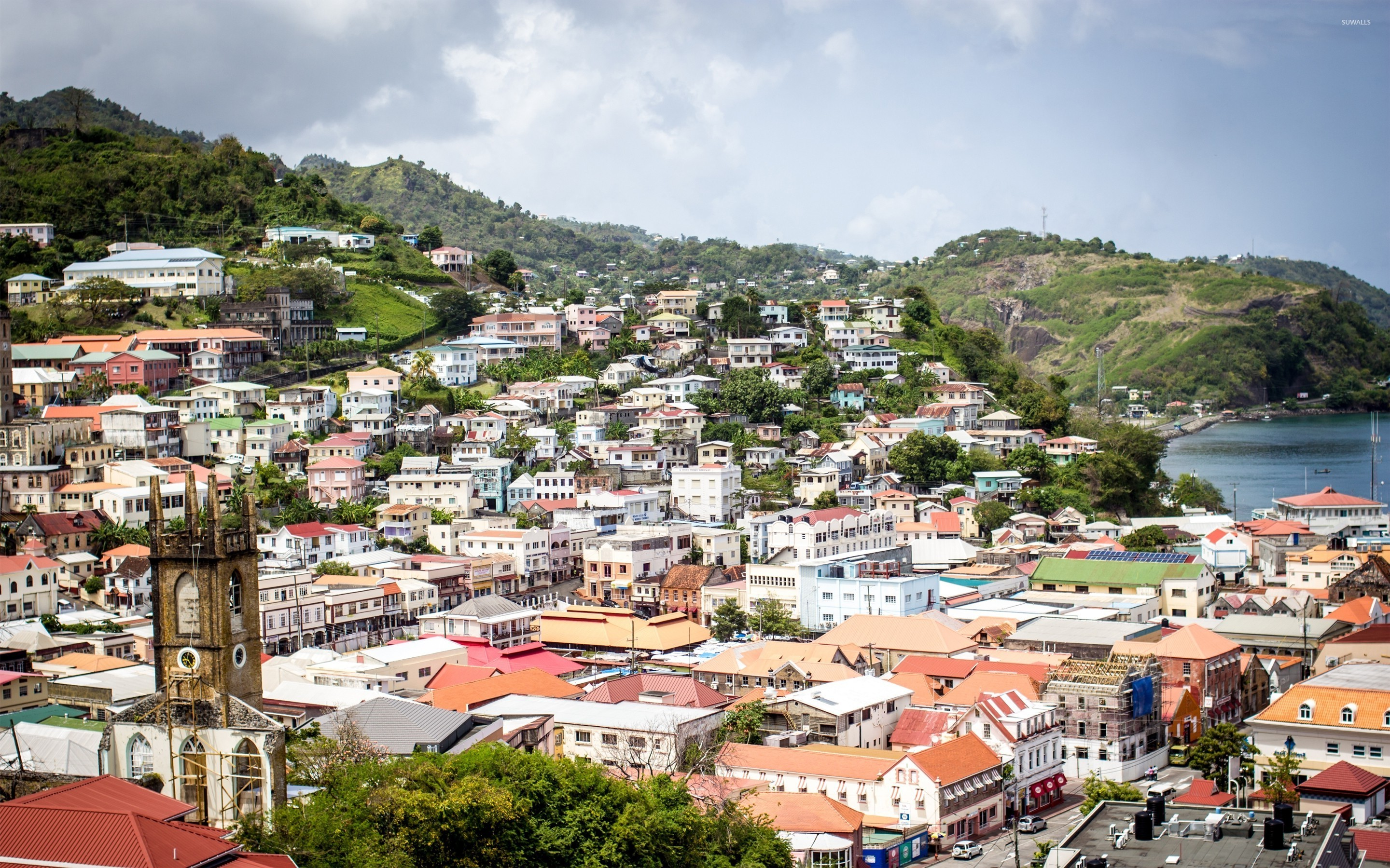 St Georges capital of Grenada wallpaper   World wallpapers   47494 1366x768