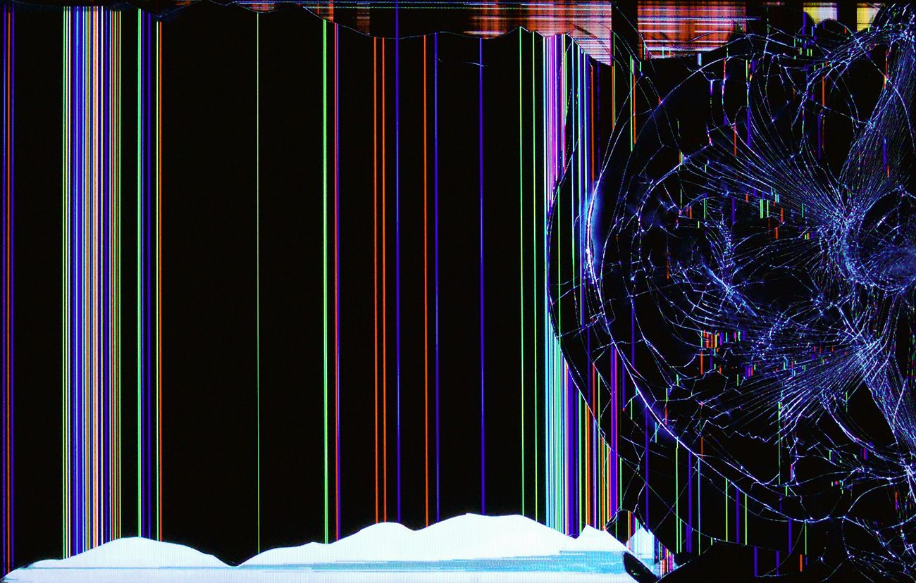 60 TV Broken Screen Wallpapers   Download at WallpaperBro 1300x828