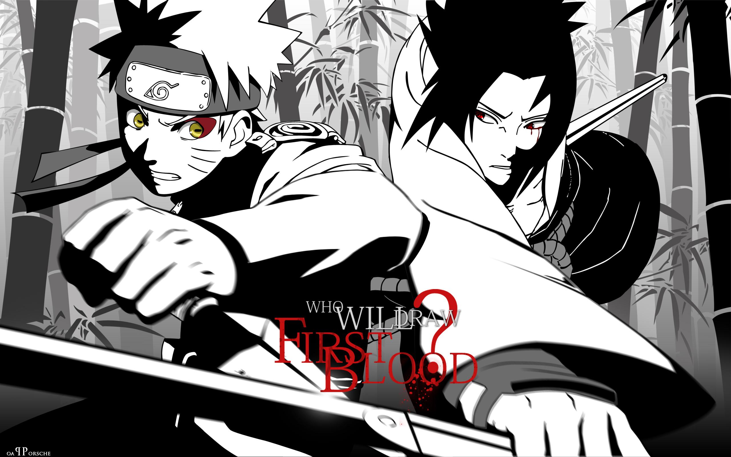 Naruto Shippuuden images Naruto vs Sasuke wallpaper photos 19942440 2560x1600