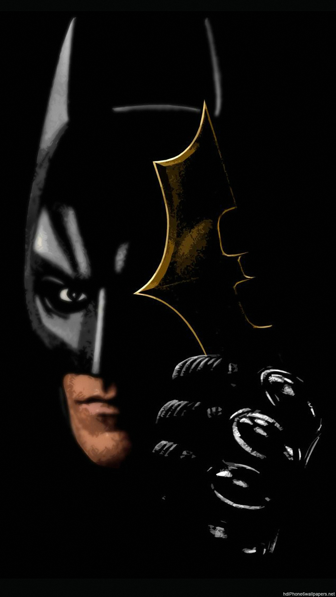 Batman Hd Wallpaper For Iphone Wallpapersafari