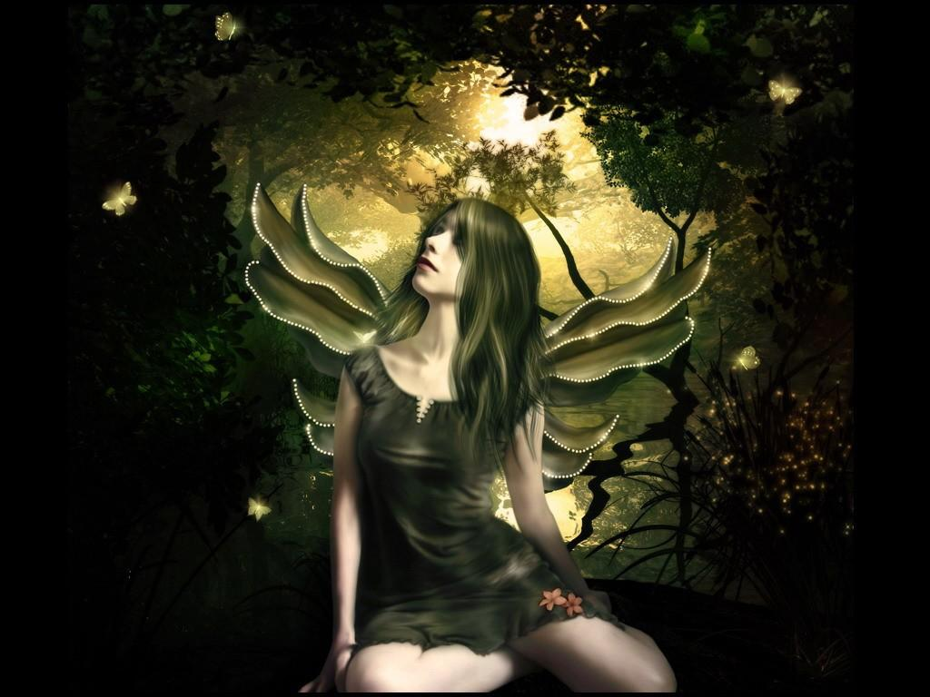 Daniel Sierra 3D Fairy wallpaper Cute Fairy Wallpapers 1024x768