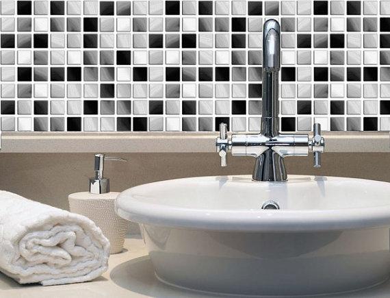 Tile Decals Vinyl Sticker WATERPROOF Tile or Wallpaper for Kitchen 570x435