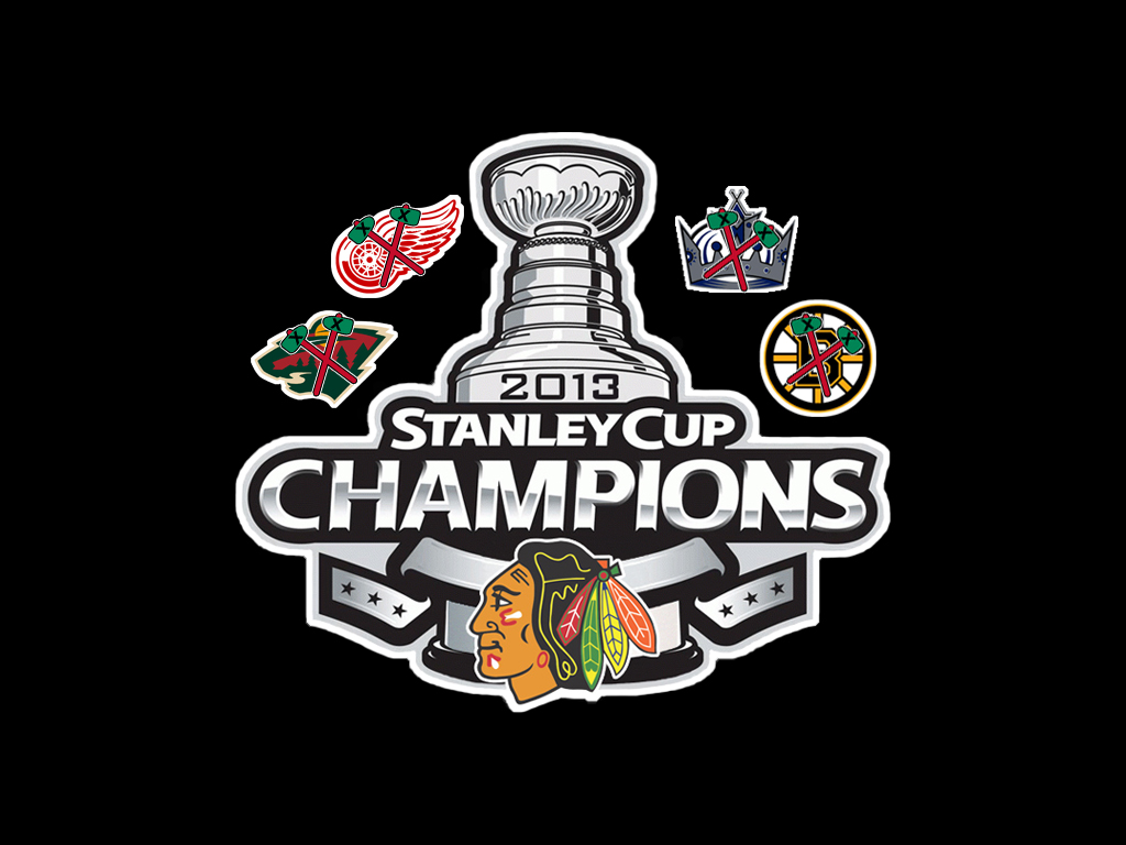 2013 Stanley Cup Champions Chicago Blackhawks Backgrounds 1024x768