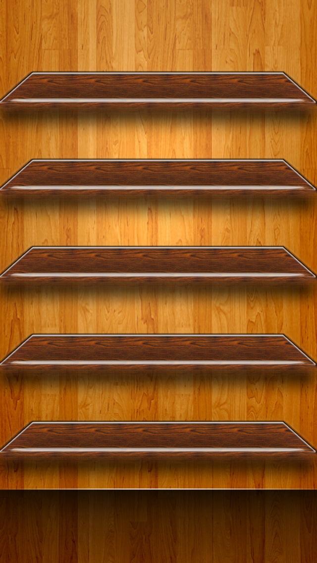 50 Iphone 5 Shelf Wallpaper On Wallpapersafari