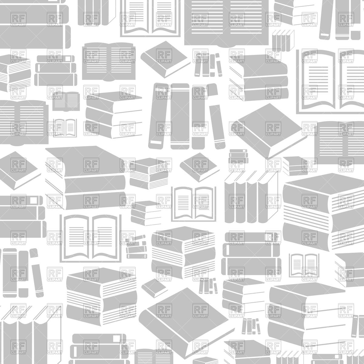 Gray background made of books Vector Image of Backgrounds 1200x1200