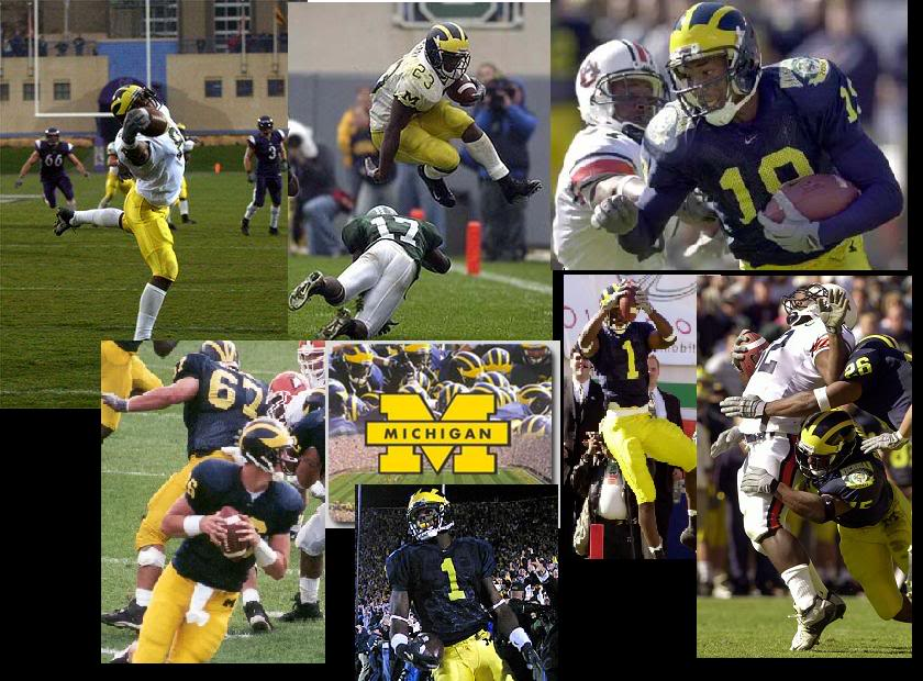 Michigan Wolverines Football Graphics Pictures Images for Myspace 840x620