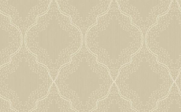 Trellis Wallpaper in Metallic and Neutrals design by Seabrook Wallcove 600x372