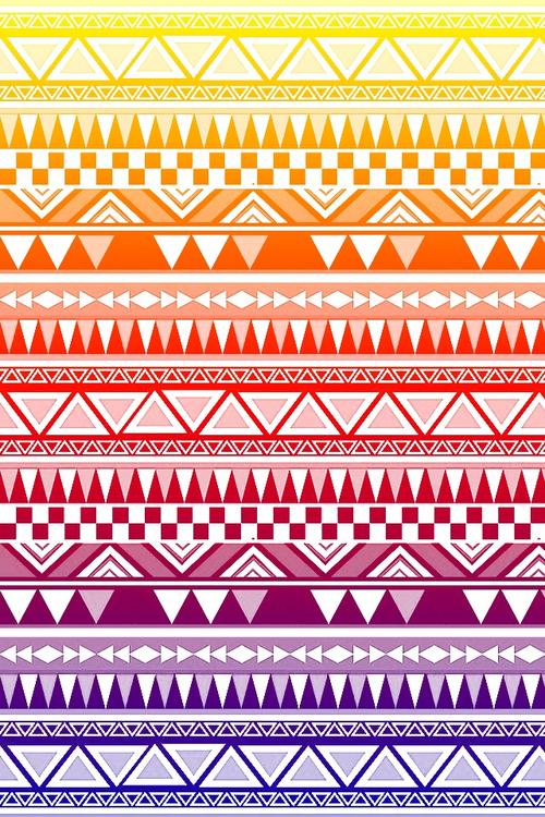 geckobrok Aztec Wallpaper 2 on We Heart Ithttp 500x750