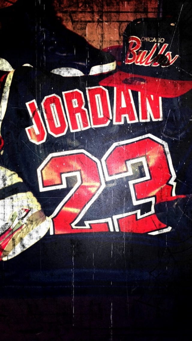 Chicago Bulls Jersey Jordan 23 Wallpaper   iPhone Wallpapers 640x1136