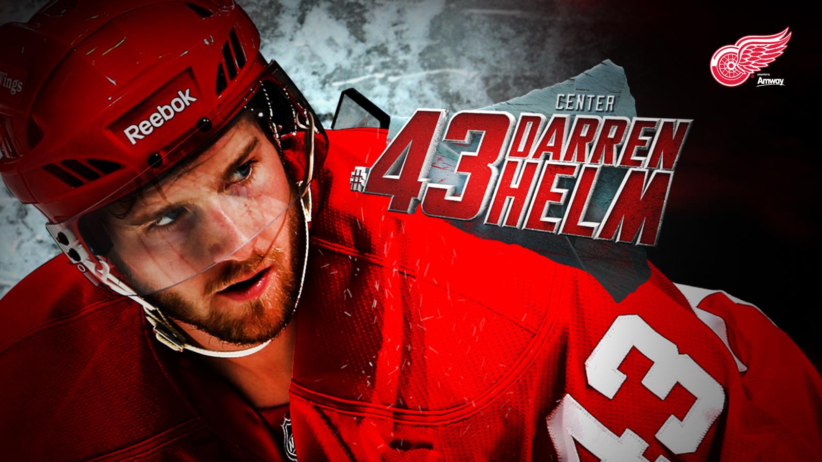 Detroit Red Wings HD Wallpaper Helm 1600x900
