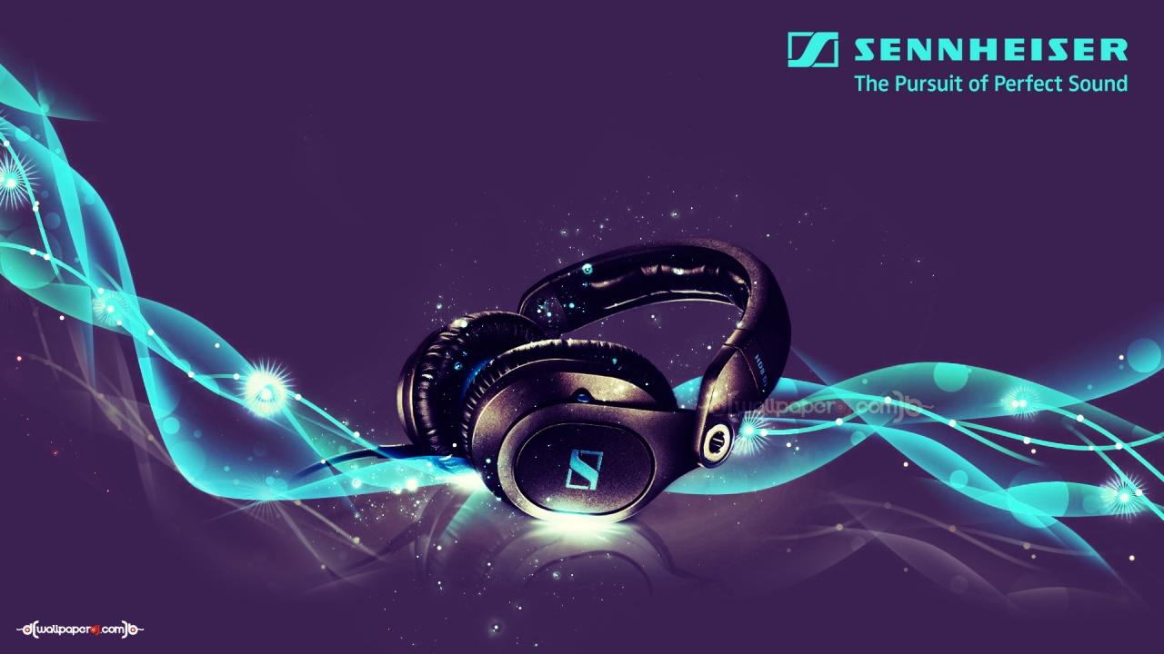 HD8 DJ 1280x720px Sennheiser HD8 DJ Headphones HD Wallpaper 1280x720