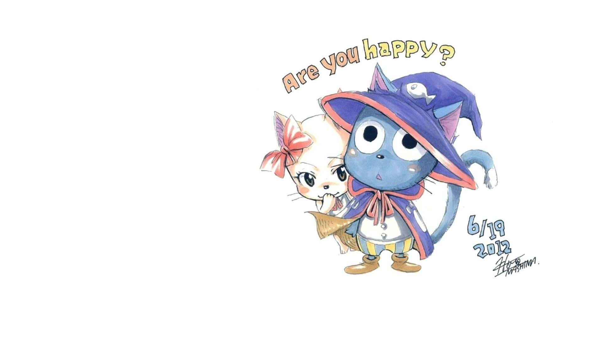 Fairy Tail Happy Wallpapers 1920x1080