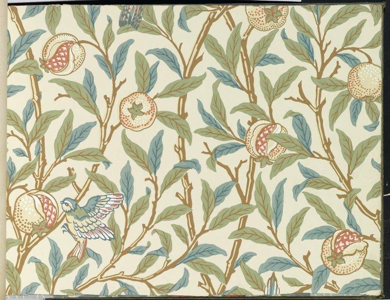 OrgFileBrooklyn Museum Wallpaper Sample Book 1 William Morris 768x590