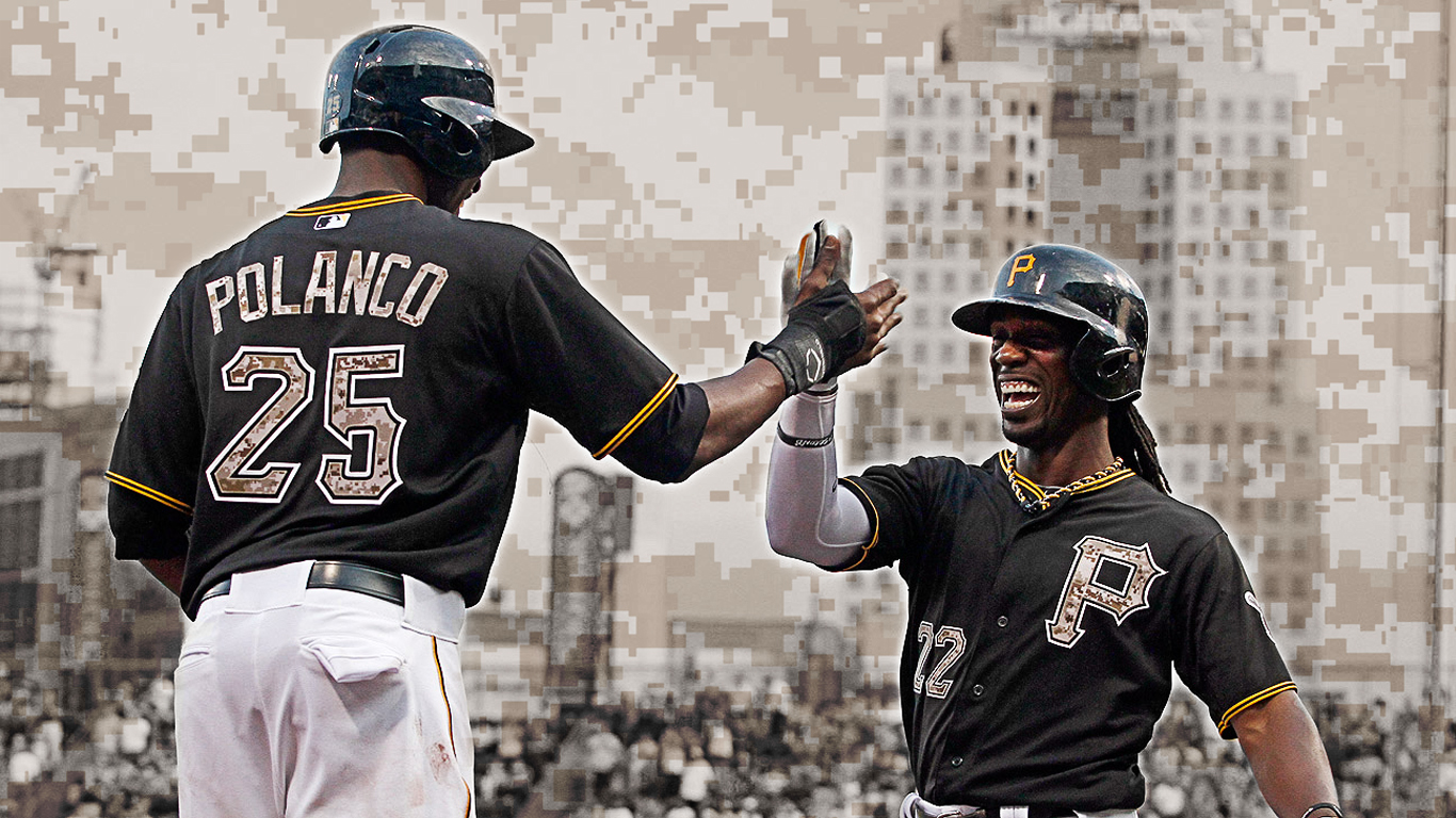in pittsburgh pirates wallpapers next post pirates all stars previous 1366x768