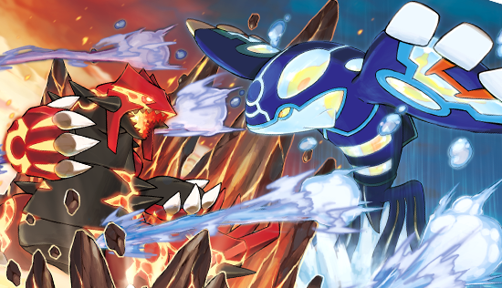 Primal Groudon And Kyogre And Mega Rayquaza Wallpaper ...