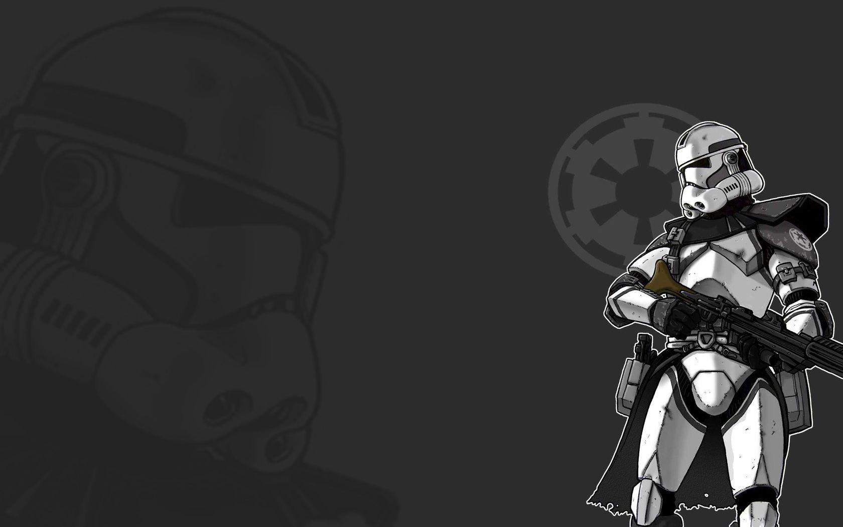 45 Star Wars Trooper Wallpaper On Wallpapersafari