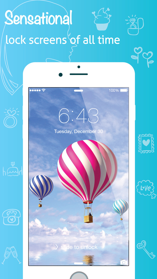 colorful retina home lock screen backgrounds for sweet fairy girls 640x1136