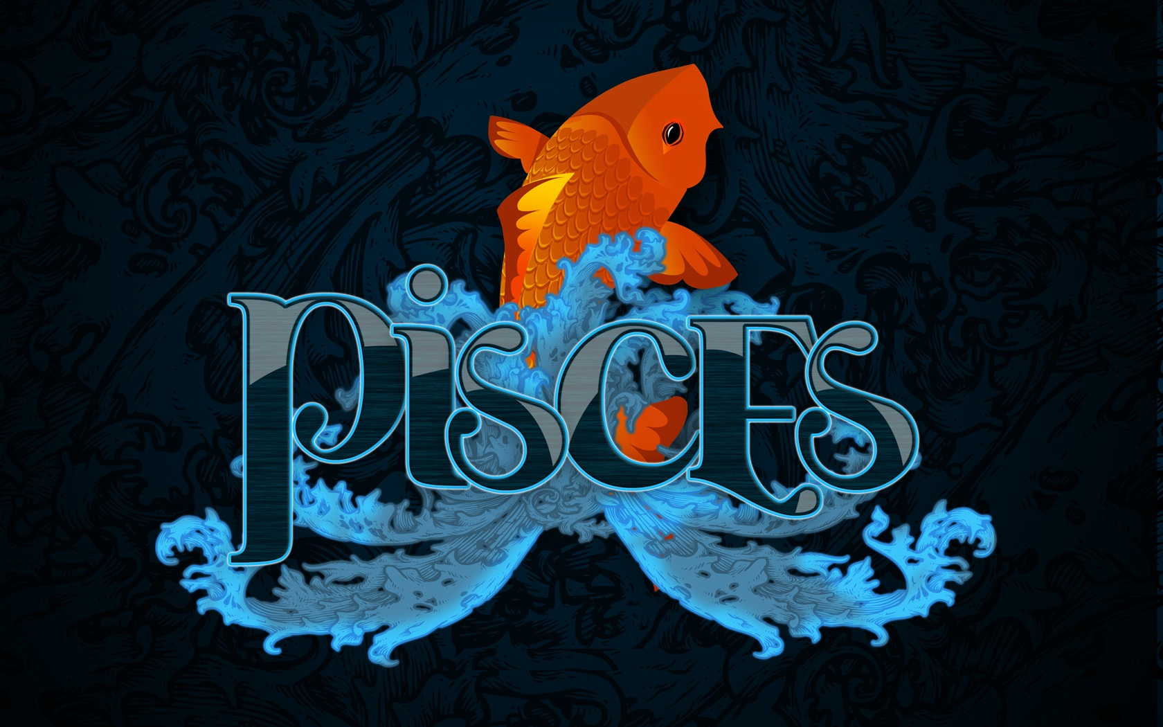 Tagged with Horoscope Pictures Pisces wallpapers zodiac sign 1680x1050