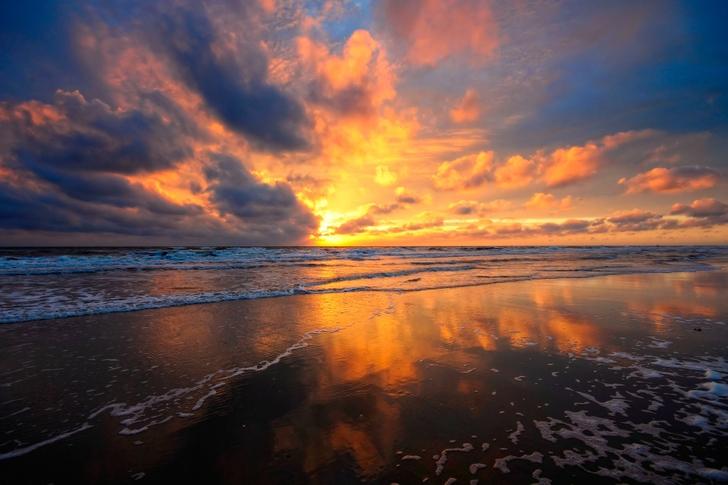 Sunset clouds wallpaper Wallpaper Wide HD 728x485
