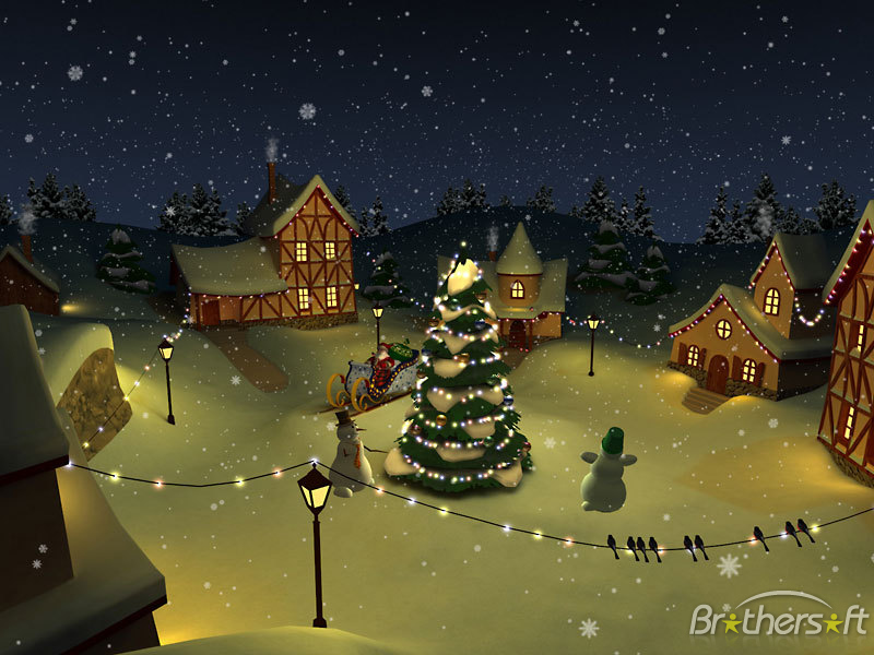 Download Christmas Holiday 3D Screensaver Christmas Holiday 3D 800x600