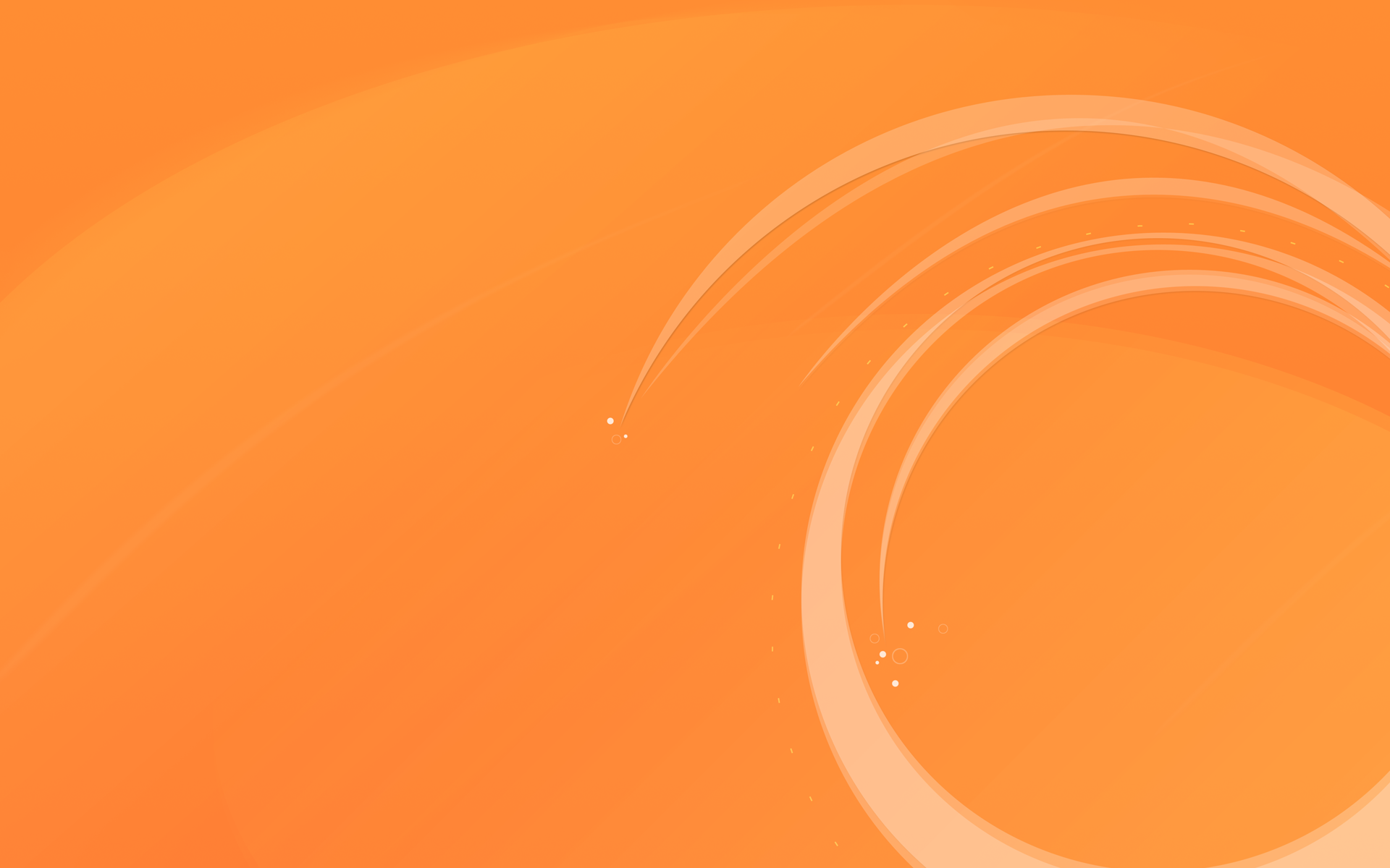 Orange Abstract wallpaper 96448 1920x1200