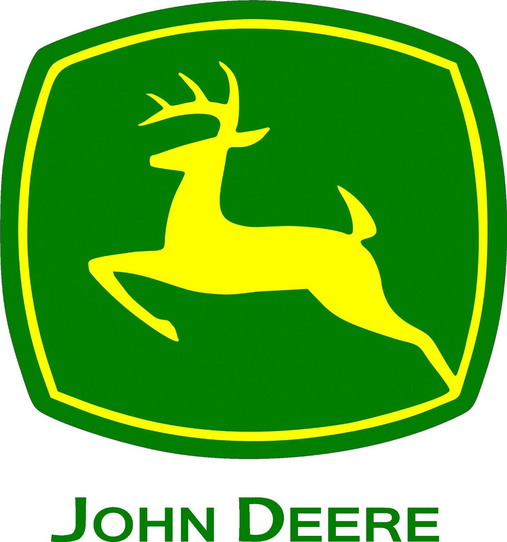Amazoncom JOHN DEERE LOGO Decal Set of 2 5 12 X 5 12 1401x1500