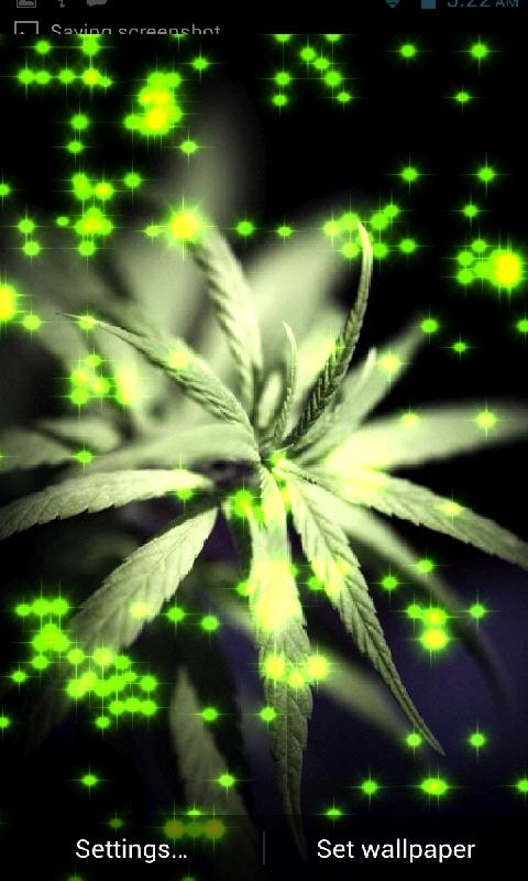 Trippy Weed Wallpaper For Iphone Trippy weed marijuana lwp 480x800
